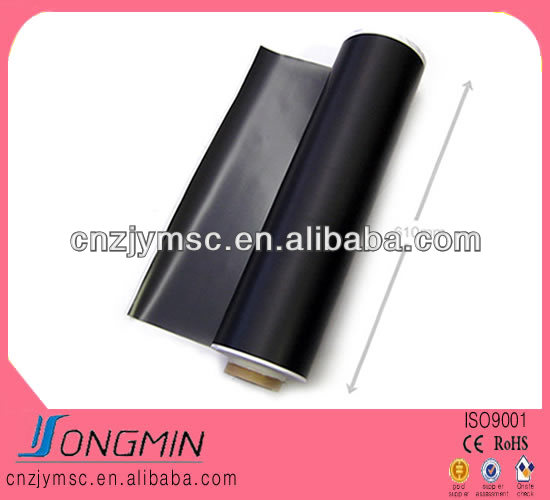 rubber coated flexible magnet roll adhesive