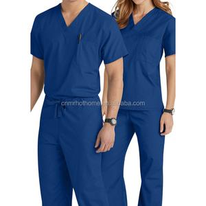 Women's and Men's Stylish Medical Scrubs Nursing Uniform