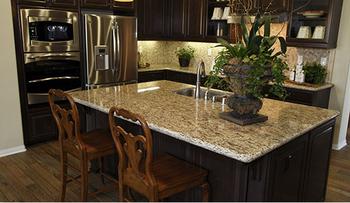 Masada Sun Granite Kitchen Countertop