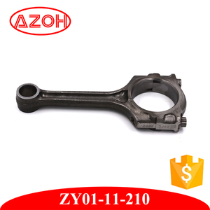 Japan Quality Auto Engine Spare Parts forged Aluminum connecting rod  ZY01-11-210 For car mazda 2 De 1 3L 1 5L
