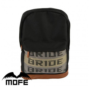 Mofe JDM Bride Harness Canvas Racing Backpack Safety Harness Backpack