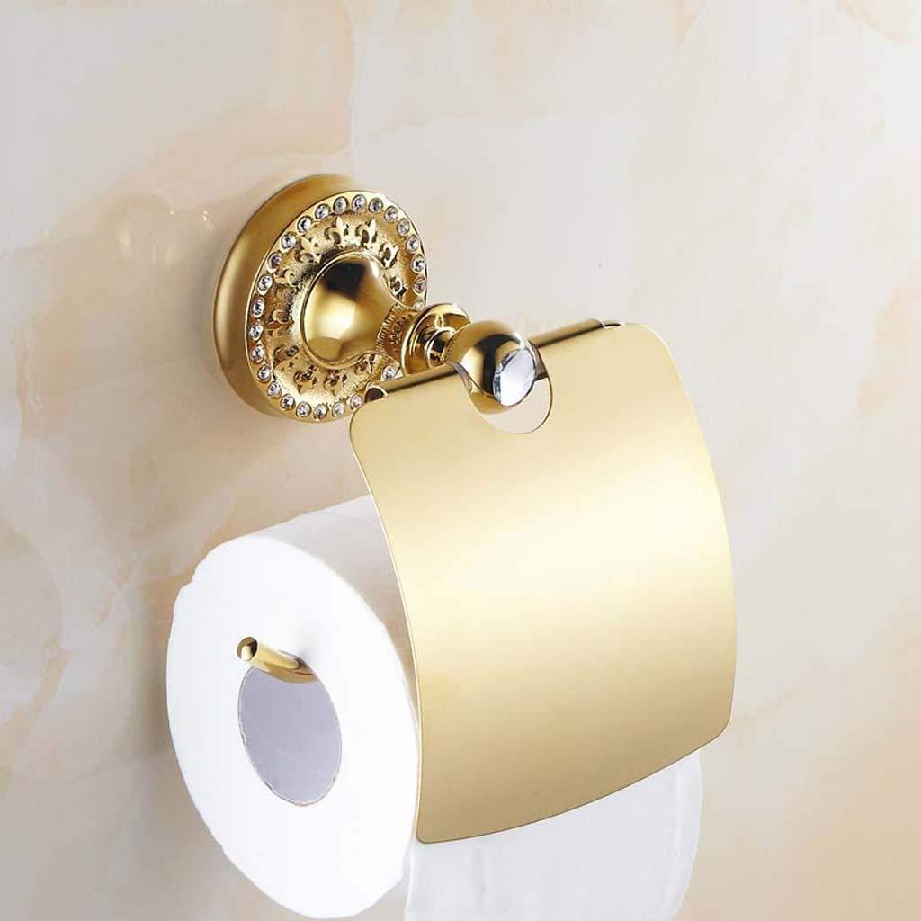 YAOHAOHAO In the European style gold toilet paper toilet paper towels Toilet paper rolls in the toilet paper ancient crates terminal boxes bathroom toilet paper