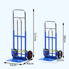 folding warehouse industrial trolley cart used to transport heavy loadsIron trolley Iron plate trolley