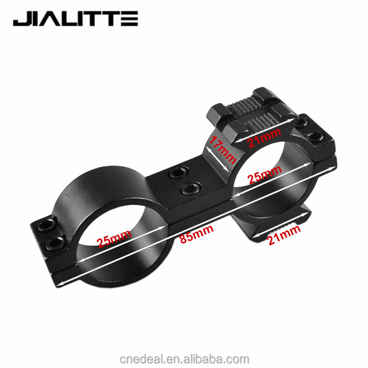 Jialitte 25X25mm High Profile 25.4mm Scope mount Rings 20mm Weaver Picatinny Rail Mount For Rifle Flashlight rifle scope J097