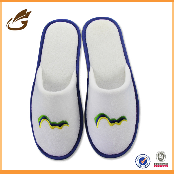 fluffy winter hotel slipper eva slipper supplier hotel bath slipper