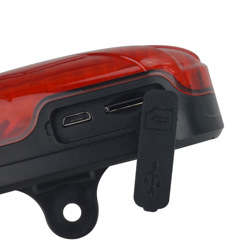 Bike GPS Tracker TK906 300 Hours Standby Waterproof SOS Alarm Low Battery Alarm LED Tail Light Locator Overspeed Alert