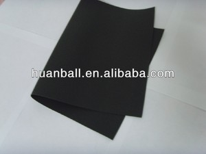black cellular rubber foam sheet