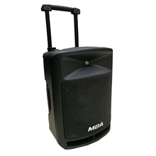 2018 Guangzhou MBA Factory Private Model 12 inch High Power RMS 80W Outdoor Trolley Active Stage Speaker with Bluetooth FMradio