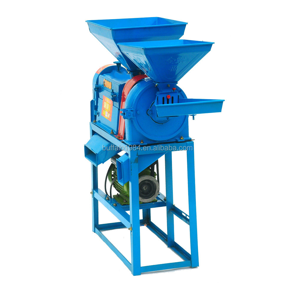 Home use high efficiency small crusher rice milling machine