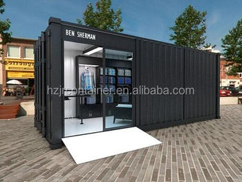 Iso 9001 Luxury 20 Feet Shipping Container