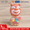 Brown Bear Shaped Bottle Sweet Colorful Jelly Bean Candy