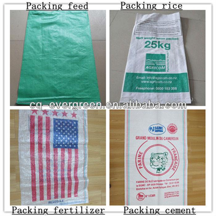 Wheat Flour Bags 50kg Plastic Bags Pp Woven Sacks