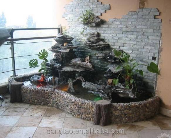 Fuentes de jardin caseras affordable haz un camino para for Cascada artificial casera