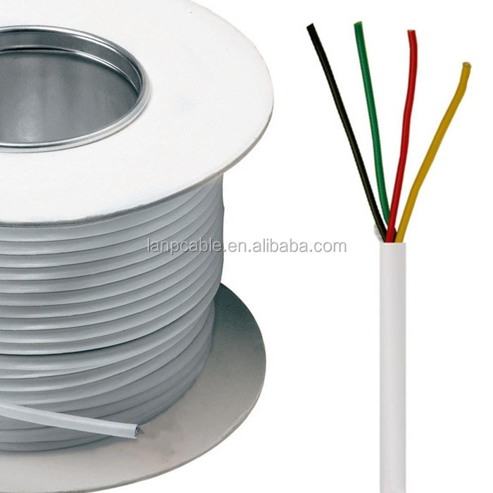 Alarm Wire 22 Gauge Solid Copper Cable White - Buy Alarm Wire,Alarm ...