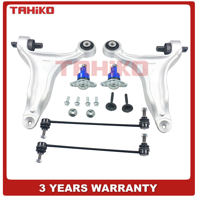 Power Steering Rack and Pinion Assembly Sway Bar Links for Volvo 2.5L Only