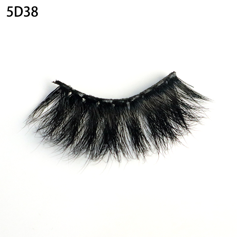 2019 premium grade popular selling sexy and charming 5D mink fur Strip Eyelashes