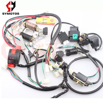 engine wire ignition cable kill switch cdi electric wire atvengine wire ignition cable kill switch cdi electric wire atv electrical system kit