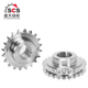 Duplex sprocket wheel by China factory SCS