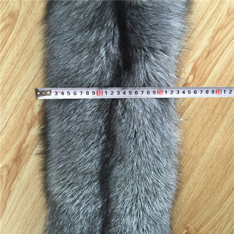 Wholesale Top quality real silver fox fur skin