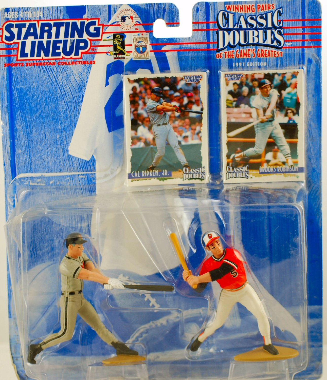 1997 SLU Starting Lineup Ken Griffey Jr /& SR cartes//figures