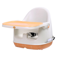 2018 New EN 14988 tested Adjustable Plastic Baby Dining Chair Cheap Baby Feeding Portable Booster Seat