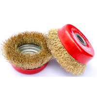 Deburring Wire Cup Brush wheel For Metal Finishing polishing rust cleaning