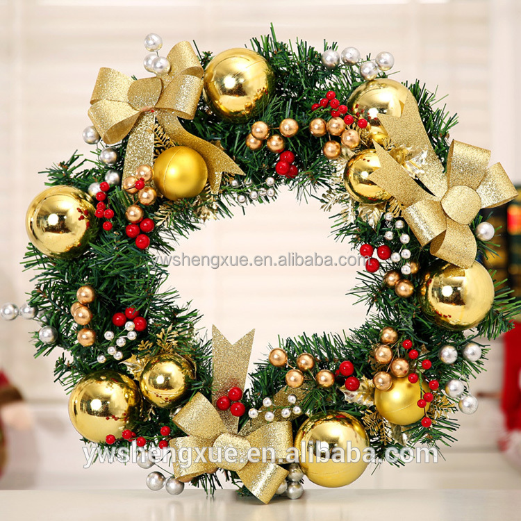 Gold Christmas Wreath.Golden Christmas Wreath With Bow White Berry Xmas Wreath Buy Xmas Wreath Christmas Wreath Golden Christmas Wreath Product On Alibaba Com