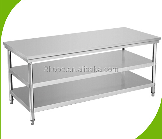 Restaurant Kitchen Metal Shelves restaurant kitchen stainless steel shelves/4 tiers adjustable