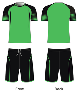 Wholesales High Quality All Set Green Soccer Uniforms Goalkeeper Shirts