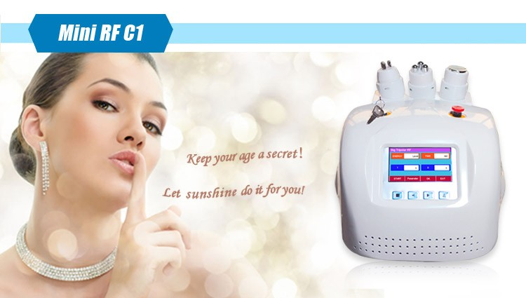 Working for the Woman Wrinkle Remover Weight Loss Bipolar Rf Ultrasonic Cavitation Machine