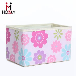 Wholesales Customized Collapsible Mouldproof Nonwoven Fabric Multipurpose File Dvd Storage Boxes Without Lid