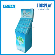 eye-catching competitive price durable cardboard electronics display stand for LED Bubls