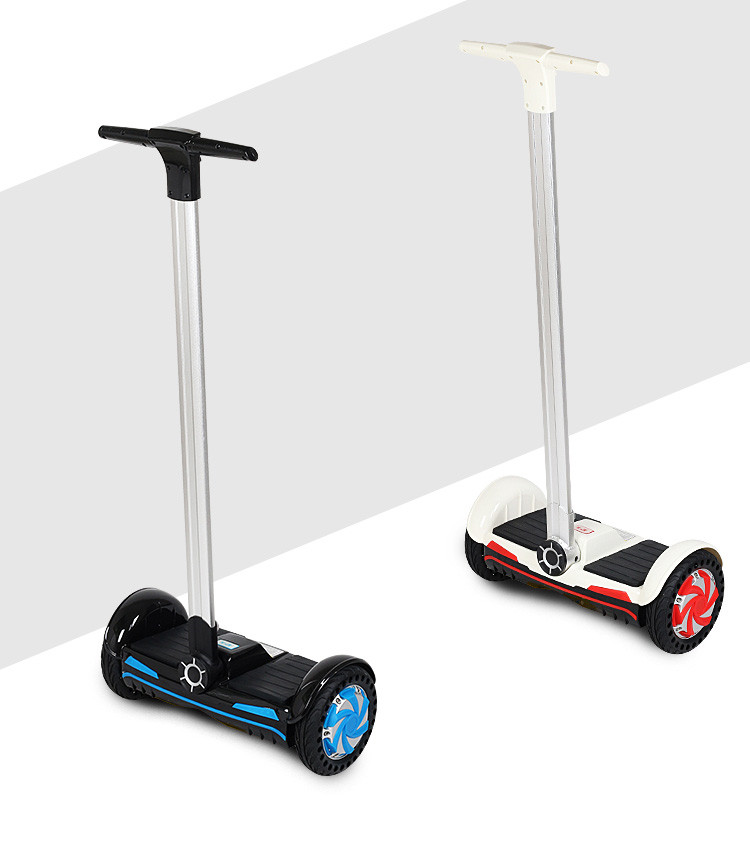 F1 8inch two wheel electric standing balance scooter with handle