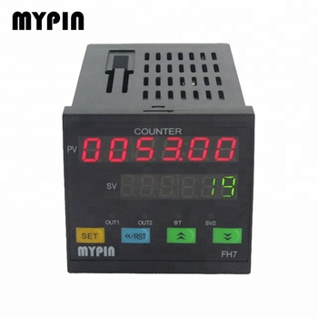 FH series Wholesale 4/6/8 digits Digital Preset Frequency Counter/Timer