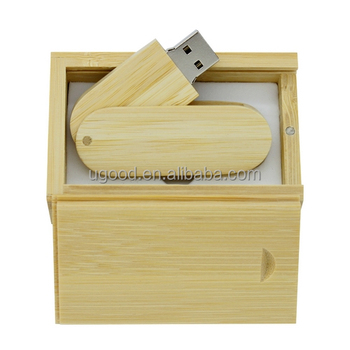 New Pen Drive Wooden Usb Wooden Gift Box 32GB 64GB USB Memory