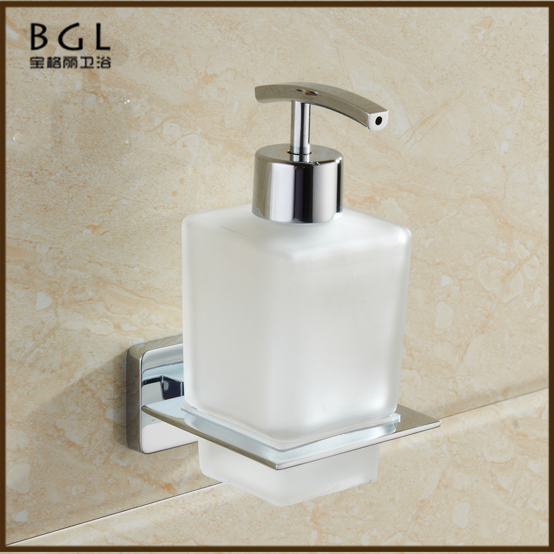 17638a Wall Mounted Chrome Bathroom Ings Zinc Soap Dispenser