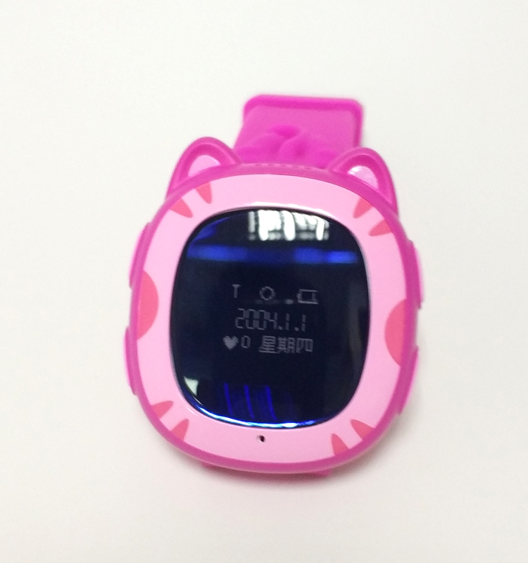 64*48 Resolution MTK6261 SOS GSM Calling GPS Smart Kids Watch Voice Recorder