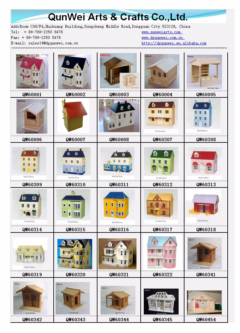 1:12 Scale Villa Stylish Fancy Wooden Toy Doll House European victorian Dollhouse Cottage
