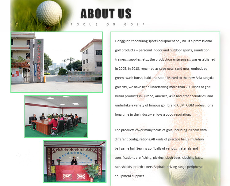 New Design Custom Made Golf Training Aids Golf Prática Chipping Redes Para Interior E Exterior