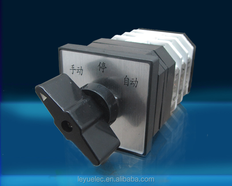 CE approval New Design LW12 USA 20A 380V cam switch made in China