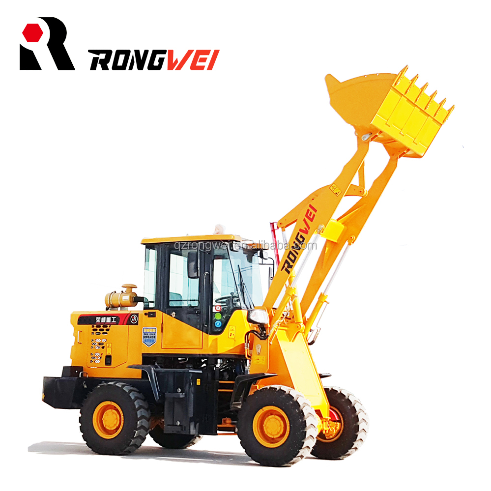 China Manufacturer Wholesale Mini Front End Farm Wheel Loader with CE
