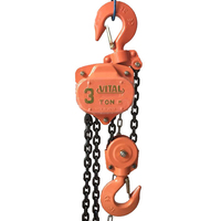 Max capacity Heavy Duty 1TON-50TON VITAL Chain Hoist lifting machine/building equipment tools