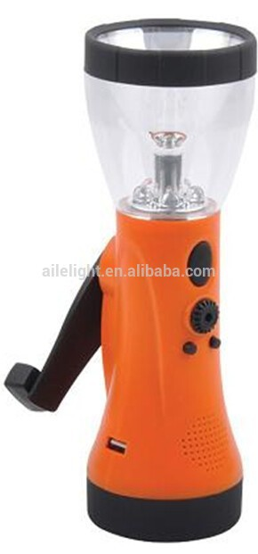 classic safety solar lantern with cell phone charger