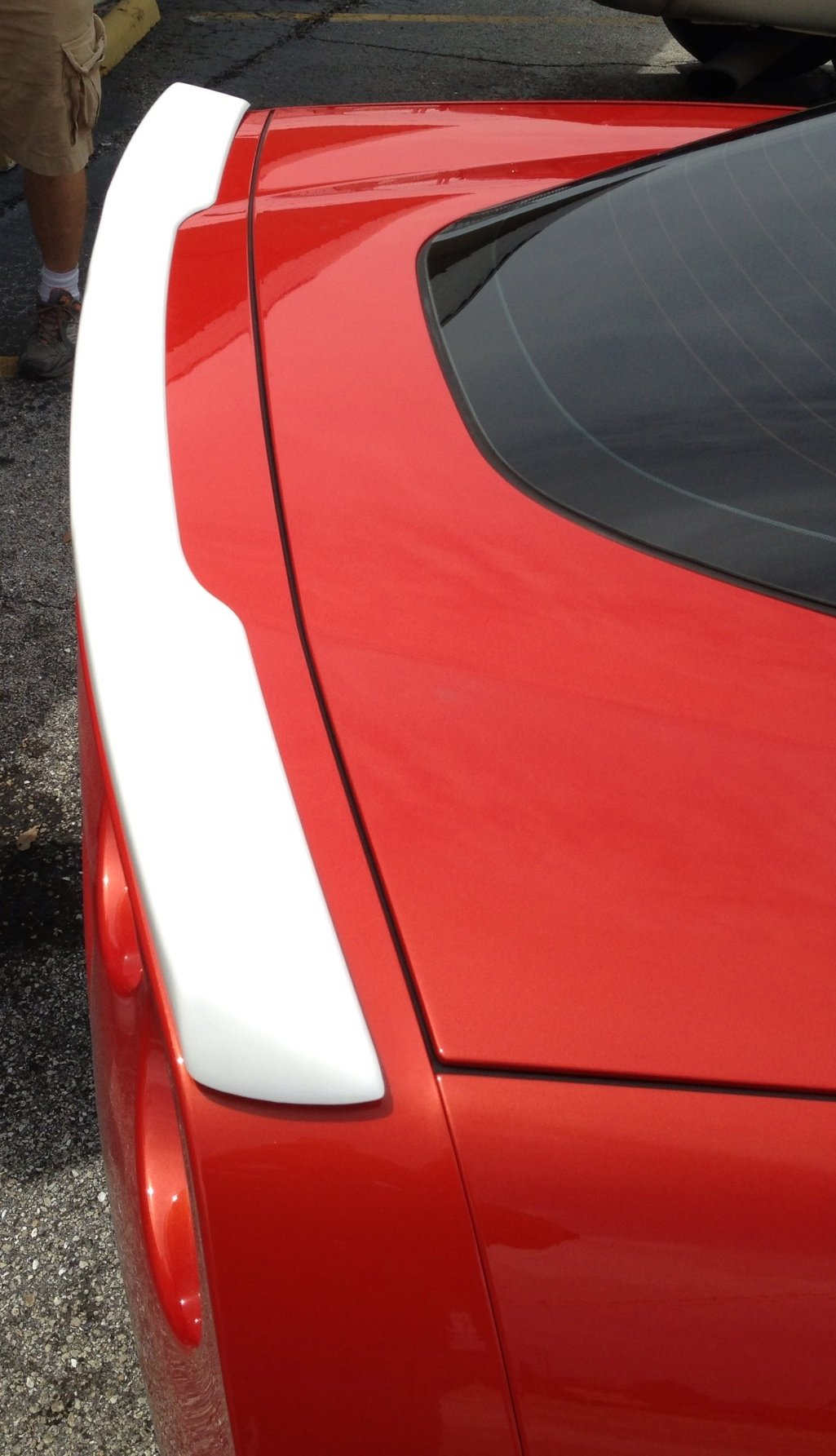 Performance Corvettes 2005-2013 Corvette C6 ZR1 Style Spoiler No Drilling ABS Plastic