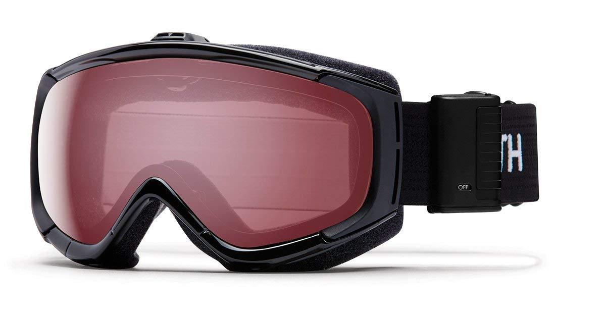 88720885ba3a Smith Optics Adult Phenom Turbo Fan Snow Goggles Black Frame ChromaPop  Everyday Rose