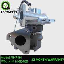 RHF4H Turbocharger turbo 14411-MB40B VN4 for Nissan CabStar 2.5 Dci