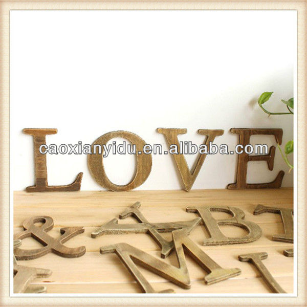 Wooden letter for home decor/ wooden sign