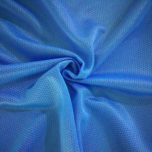 High quality 100% Polyester Soft Breathable Fabric for Lining and Clothing mesh fabric