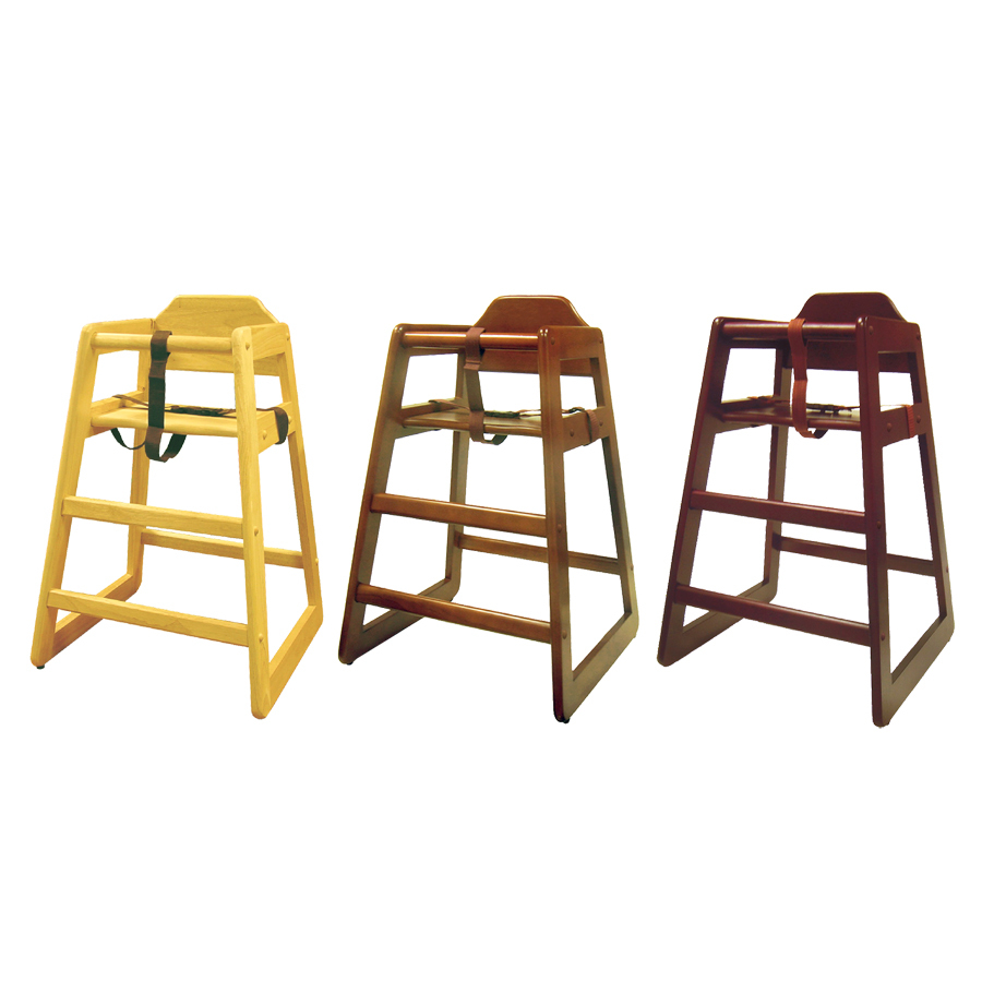 Kids Feeding Child Safety Chair Wood Stacking Baby Booster Seat