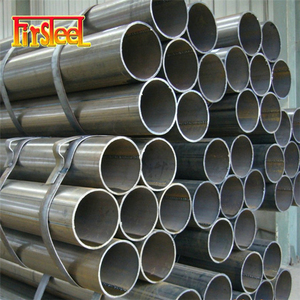 Factory supply 1.2mm 2mm thickness astm a134 steel pipe for construction